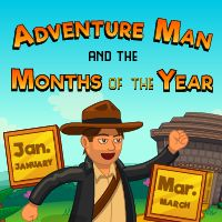 Adventure Man Months Of The Year