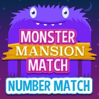 Image result for monster mansion match numbers