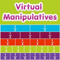 photograph relating to Fraction Manipulatives Printable known as Portion, Decimal Per cent Tiles ABCya!