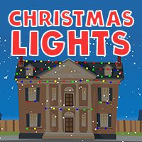Minecraft Christmas Houses.Christmas Lights A Holiday Computer Activity For Kids Abcya