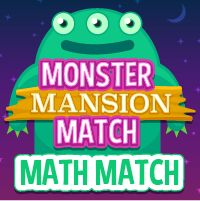 Monster Mansion - Math Match + - x /