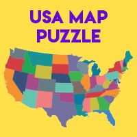 Us Map Puzzle Interactive Geography Practice   USA Puzzle Map • ABCya!