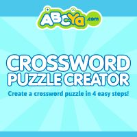Crossword Puzzle Maker For Kids Abcya