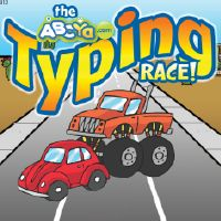 Image result for typing race abcya images